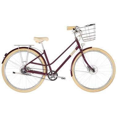 Vélo Hollandais CREME EVE 8 TRAPEZ Bordeaux 2020